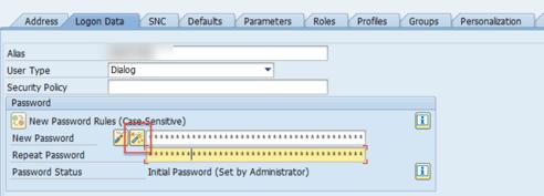 SAP_PASSWORD_GENERATE