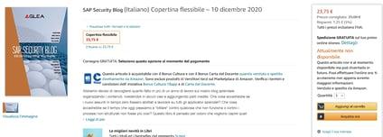 Amazon.it_ SAP Security Blog - - Libri e altre 11 pagine - Lavoro - Microsoft E