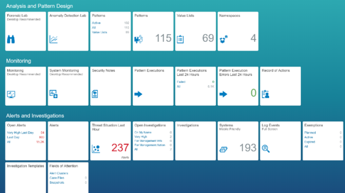 SAP ETD DASHBOARD