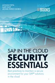 SAP IN THE CLOUD SECURITY ESSENTIALS