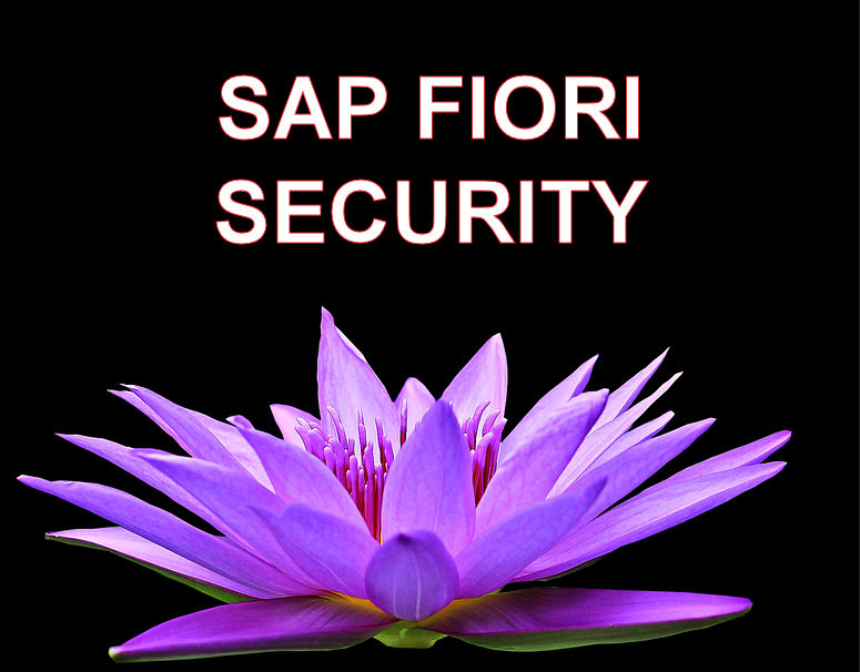 SAP FIORI SECURITY