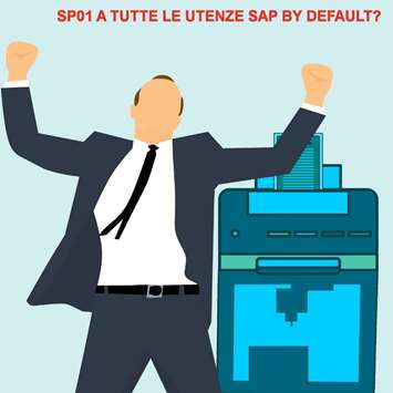 Stampe SAP sicurezza